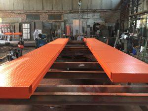 колейные бесфундаментыне автомобильные весы 50 тонн производство